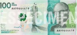 Nuevos Billetes: 100,000 pesos